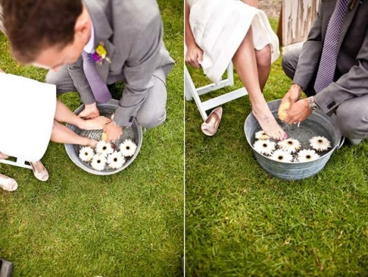 Christian Foot Washing During The Ceremony I Am So Going