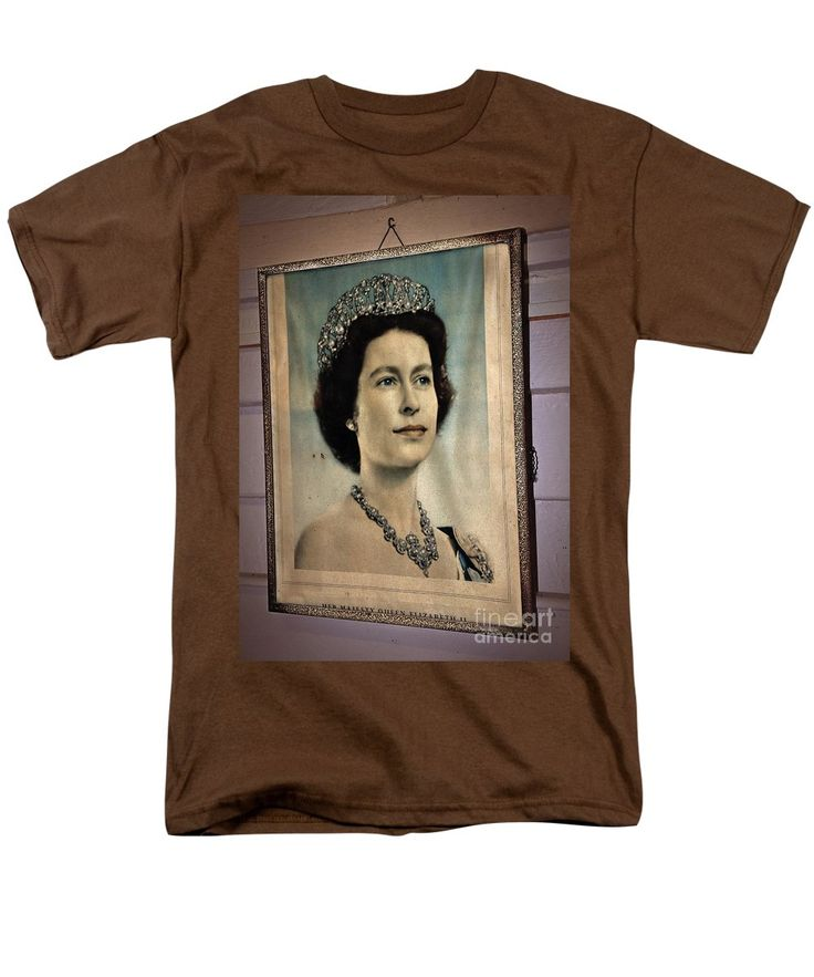 Photography T-Shirt featuring the photograph Young Queen Elizabeth II by Kaye Menner