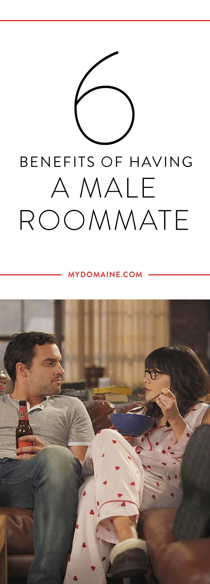 Why you should have a male as a roommate that you aren't dating