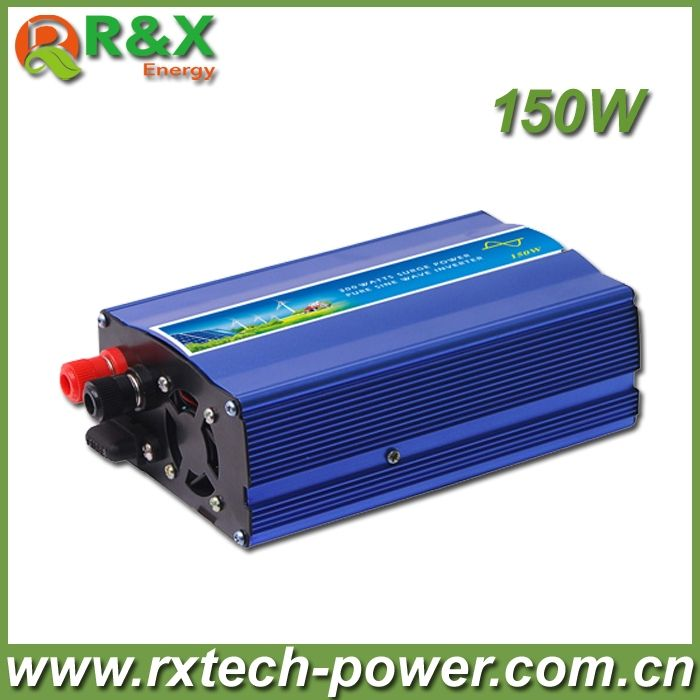 55.00$  Buy now - http://alidvu.shopchina.info/go.php?t=581381720 - HOT SALE!! 150W Off Grid Inverter Pure Sine Wave Inverter DC12V or 24V or 48V input, Wind Turbine Inverter ,Solar Inverter 55.00$ #magazineonline