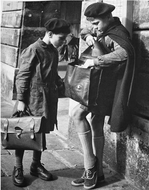 France. París, 1952 // by Ilse Bing