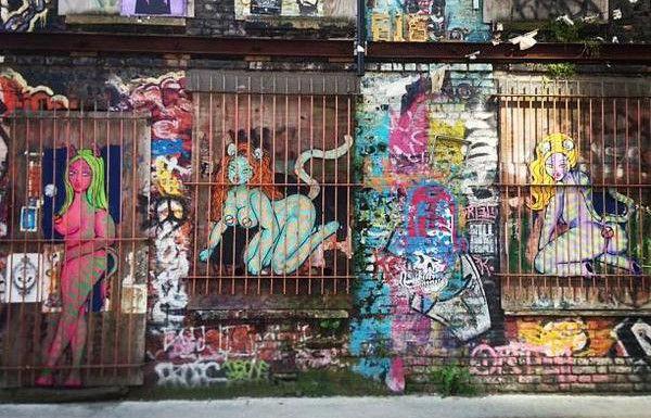 Street art in Shoreditch (Everything London)