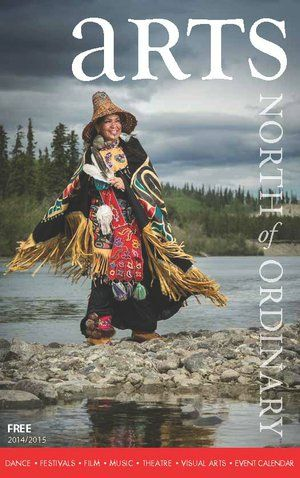 Arts, North of Ordinary is an annual digest sized publication released every September. 20,000 copies are printed and distributed including being mailed to every household in the Yukon.