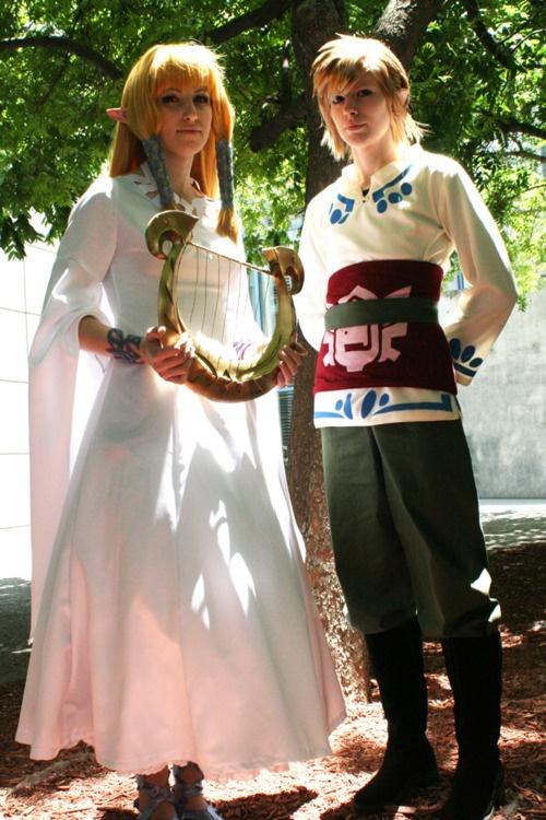 Zelda and Link -The Legend of Zelda: Skyward Sword