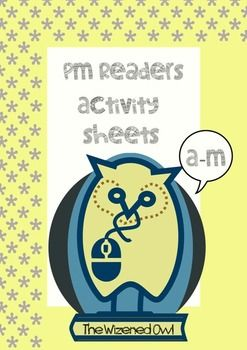 These worksheets are varied reading response/ comprehension/ grammar activities that support the PM Reader Series. All teacher-made. Included are 27 titles and 41 PAGES of activities (1-2 pages per title)  All printable and geared to individual reading and comprehension ability levels.
