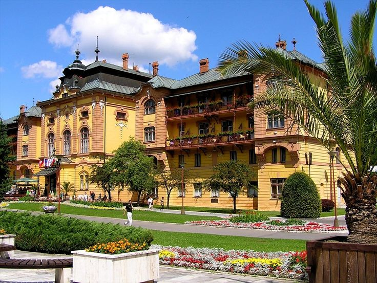 Hotel Astoria, Bardejov Spa, Slovakia
