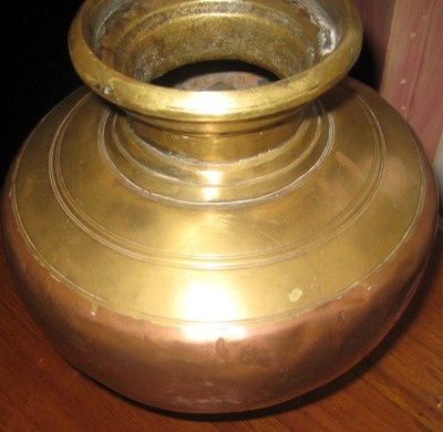 Antique Indian Moghul Copper Brass Water Pot Ebay India