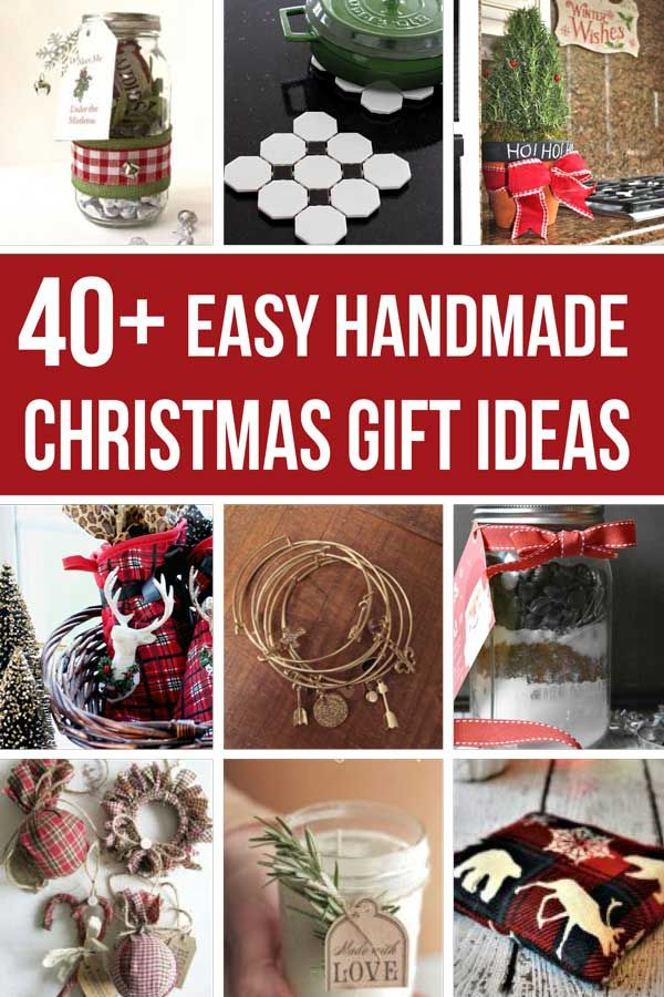 45 Cheap Gift Ideas You Can Make For Less Than 10 Cheap Christmas Gifts Easy Handmade Gifts Affordable Christmas Gifts
