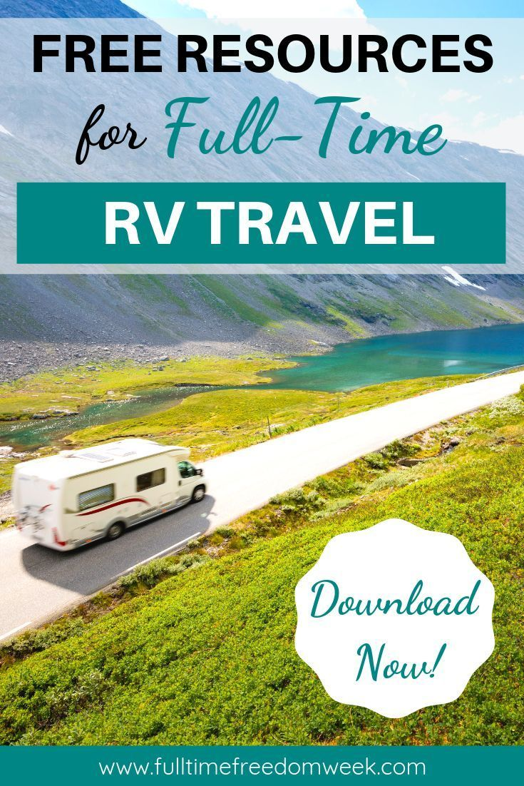 The Full Time Freedom Week Resource Library Is Packed Full Of Tips And Ideas For Full Time Rv Travel Learn About Boondocking Downsizing Purchasing A Rv Travel