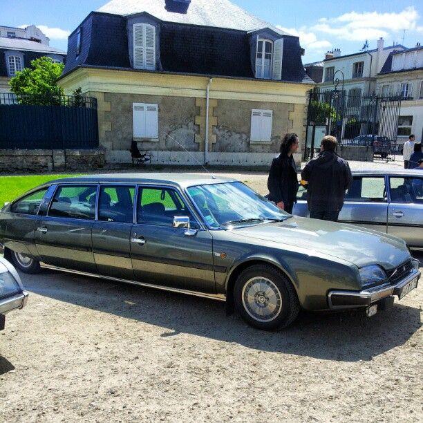 Citroën CX Prestige Rallongée for President Honecker http://www.pinterest.com/adisavoiaditrev/