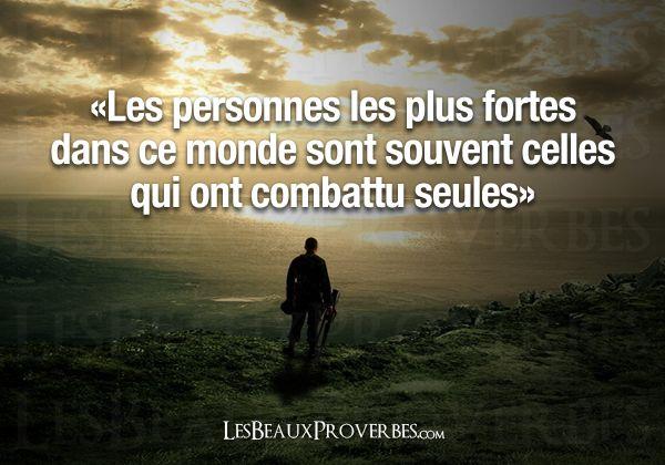 Les Beaux Proverbes – Proverbes, citations et pensées positives » » Les personnes fortes