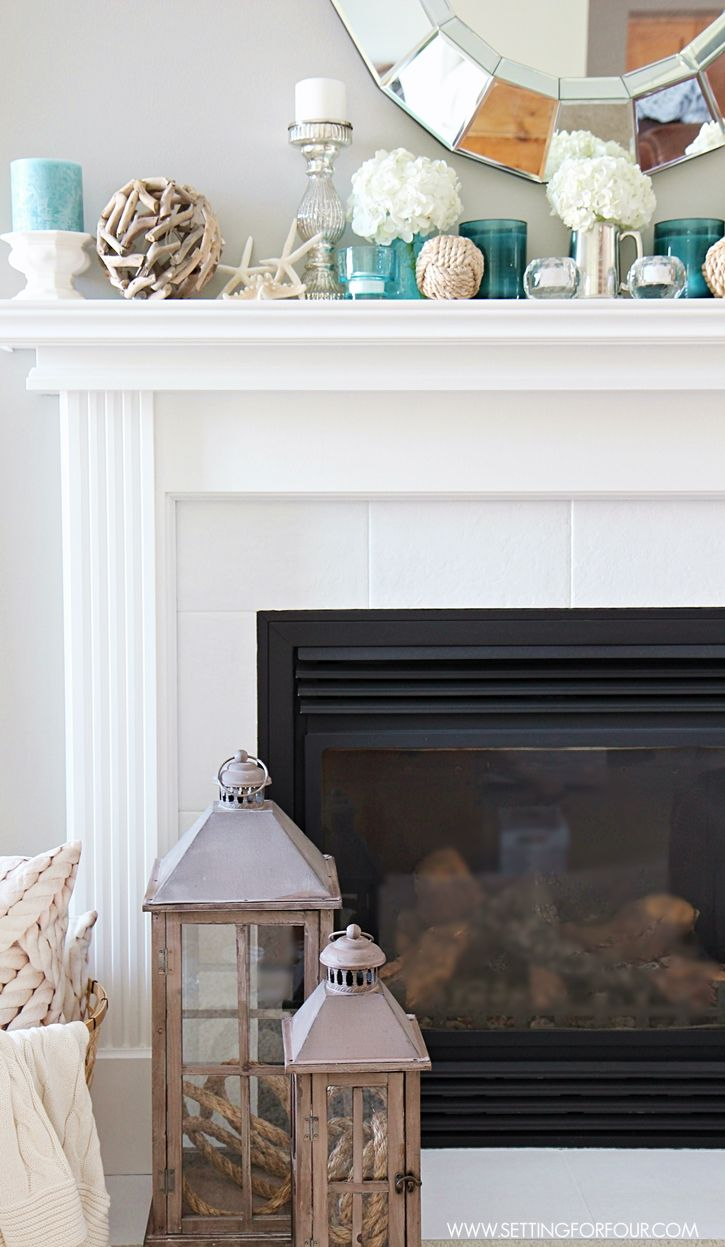 Best 20 over fireplace decor ideas on pinterest for Over fireplace decor