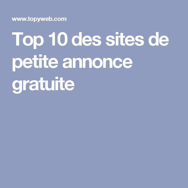 Top 10 des sites de petite annonce gratuite
