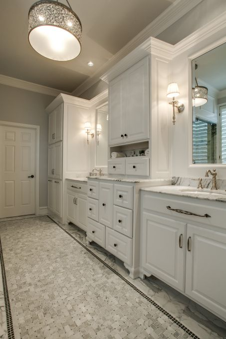 Luxury Master Bath Gutted Our 90s Master Bath That Was A