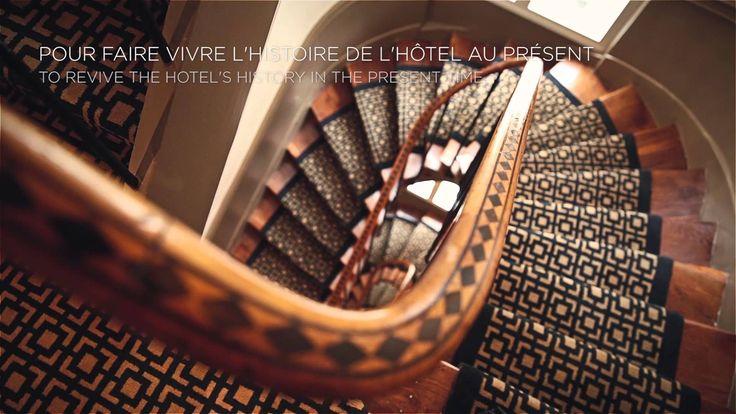 Watch the Hotel La Tamise Paris video