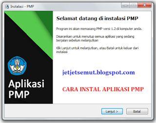 cara menginstal aplikasi SIM PMP