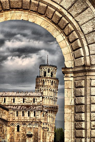 Been there, done that...climbed to the top and felt like I was going to fall off (At the age of 8). :) PISA!!!
