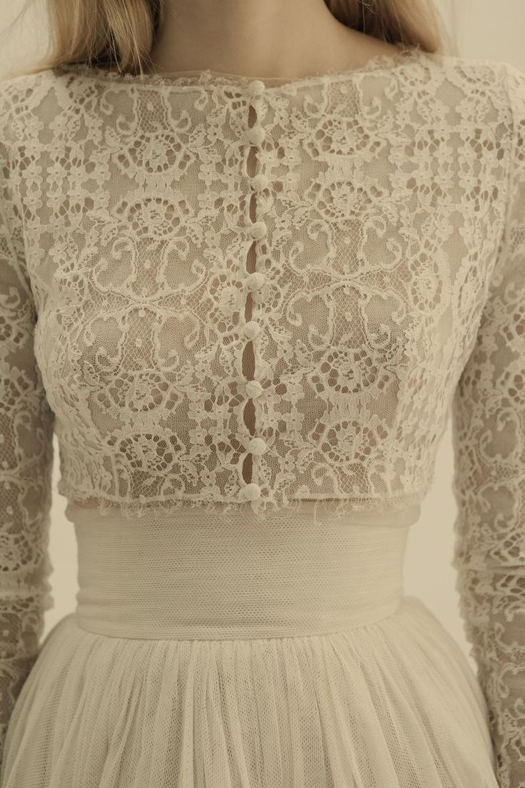 dress lace detailing from Cortana