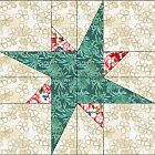 Galaxy Star Quilt Block                                                                                                                                                                                 More
