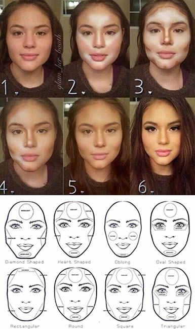 Contouring make a HUGE difference. Do It Right and it looks amazing!! http://learningcourses.com.sg/?s=make+up&search-type=courses