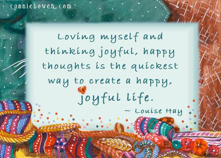 how to love myself and be happy