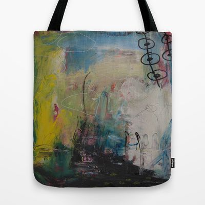 colors of the week - wednesday Tote Bag by Helle Pollas - $22.00