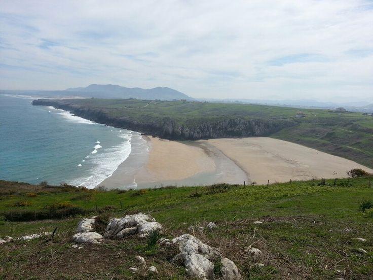 Playa cerca de cuchia