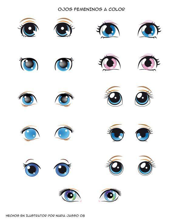 правильно нарисовать глаза для куклы картинки писать книгу, первую
