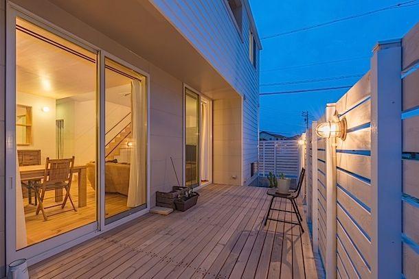 入れ子がアクセントな家・間取り(愛知県大府市)  ローコスト・低価格住宅   注文住宅なら建築設計事務所 フリーダムアーキテクツデザイン