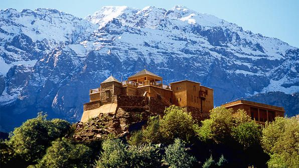 Travel's Best Honeymoons- Marrakesh, Morocco: Kasbah Du, Boutiques Hotels, Rocky Mountain, High Atlas, National Parks, Atlasmountain, Atlas Mountain, Du Toubkal, Luxury Hotels