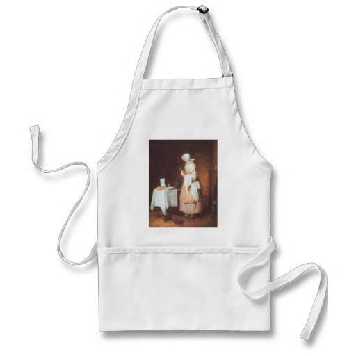 Jean Chardin - The caring maid Apron