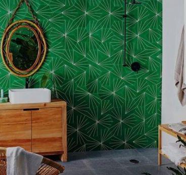 17 Best Ideas About Cement Tiles Bathroom On Pinterest