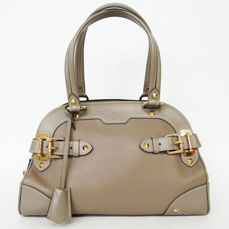【中古】Louis Vuitton(ルイヴィトン) M95625 スハリ ラディウ ハンド ショルダーバッグ ヴェローヌ グレー/開閉口はサイドまで大きく開き出し入れもしやすく持ち手が長いのでショルダーバッグとしてもお使い頂けます。/新品同様・極美品・美品の中古ブランドバッグを格安で提供いたします。