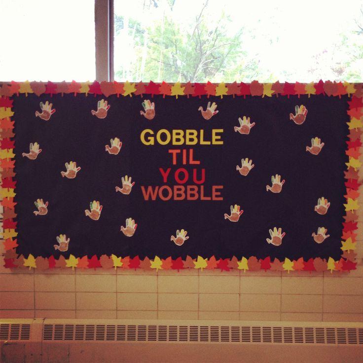 Classroom Ideas For November : Thanksgiving bulletin board november teacher