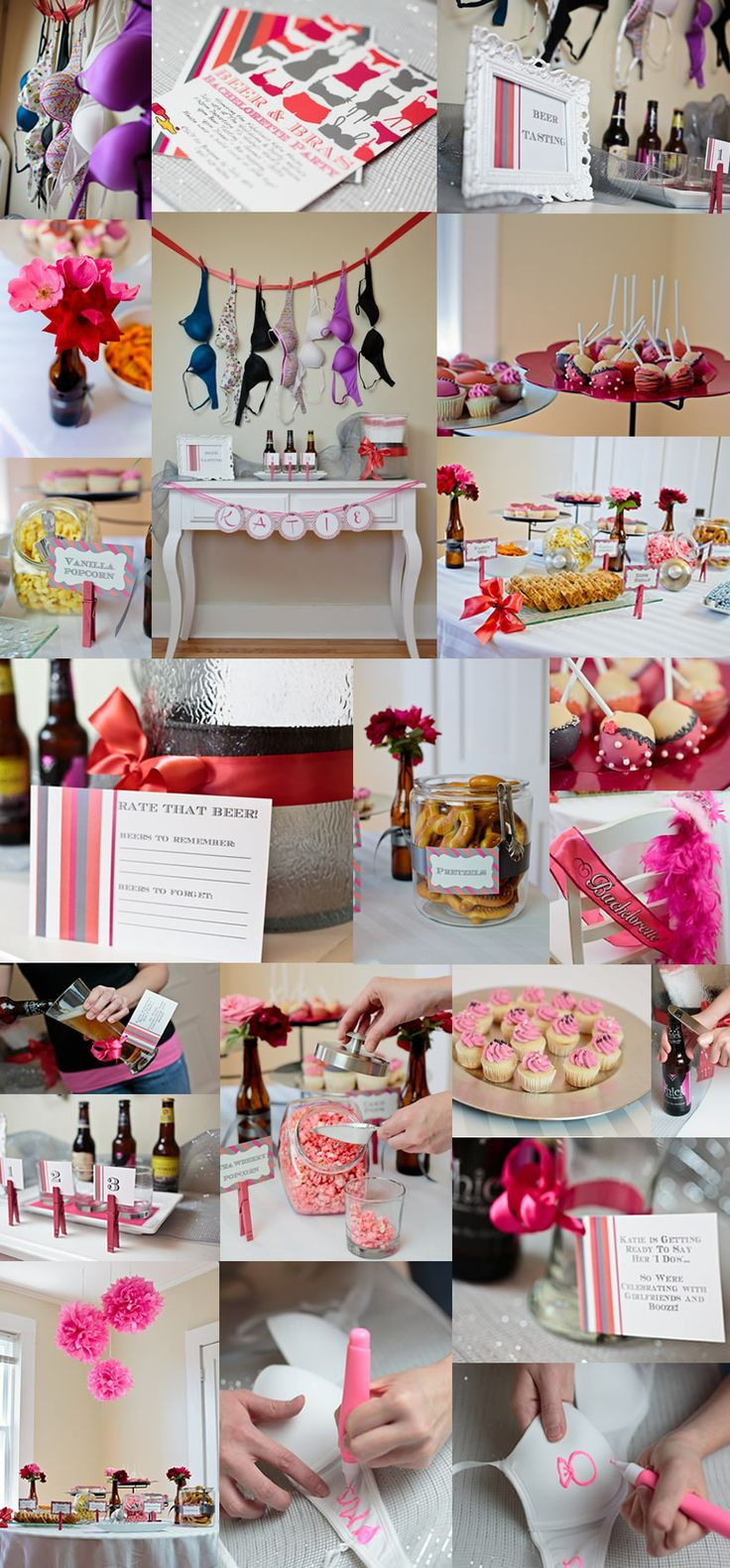 295 best party ideas bridal shower or bachelorette for Bachelor party decoration