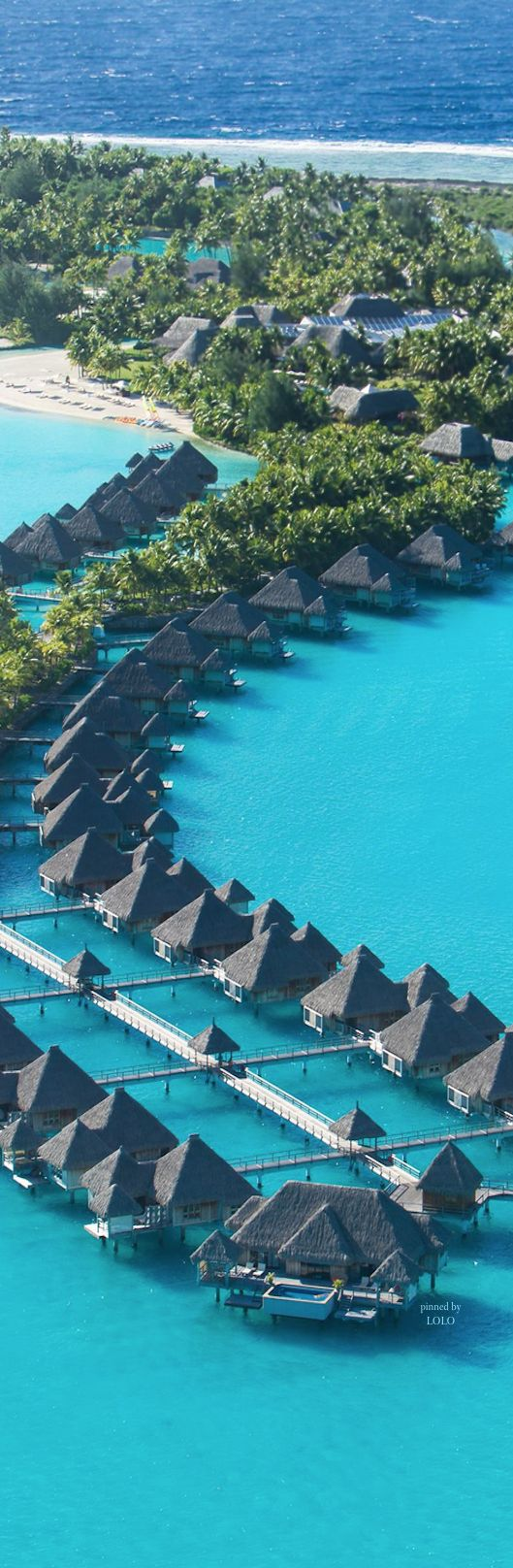 St. Regis Bora Bora  #holiday #destinations #ideas