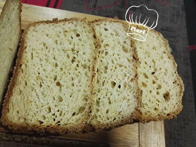 Las cositas de Meri: Pan sin gluten con harina de lenteja roja