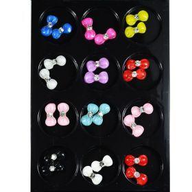FF Nail Art Kit No 2 Nail art κιτ με εκπληκτικά διακοσμητικά νυχιών ιδανικά για nail design. Είναι κατάλληλα για τεχνητά νύχια (ακρυλικό και gel) καθώς και για σχέδια σε μόνιμο βερνίκι. Τιμή €7.00
