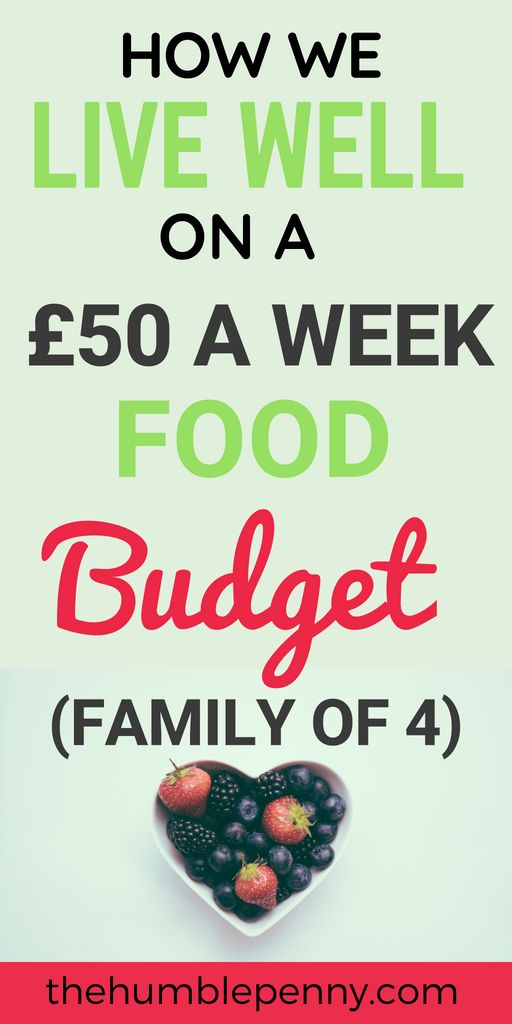 How We Live Well On A £50 A Week Food Budget (Family of 4)