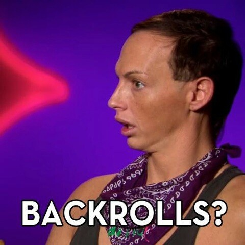 Alyssa edwards backrolls lol