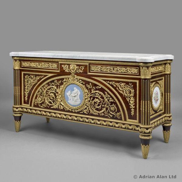 A Fine Louis XVI Style Commode A Vantaux by Maison #Motteau & Fils - # - 24 Best Fine Antiques #Commodes Images On Pinterest Furniture