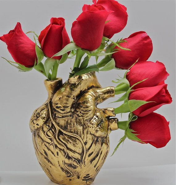 Anatomical heart vase from Blue Bayer Design NYC by billyblue22, $400.00