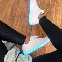 LED Shoes for Men, Women and Kids. Order you Neon Light Up Shoes Online.