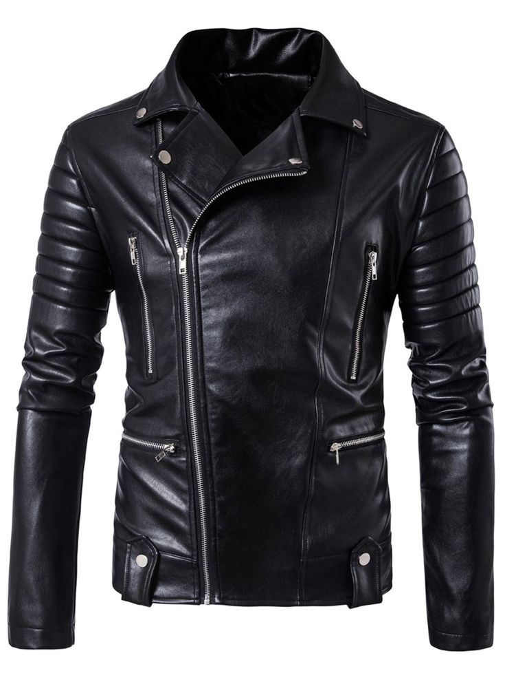 Cheap brand men jacket, Buy Quality fashion men jacket directly from China  men brand jacket Suppliers: 2017 New Men's Leather Jacket Autumn Motorcycle  ...