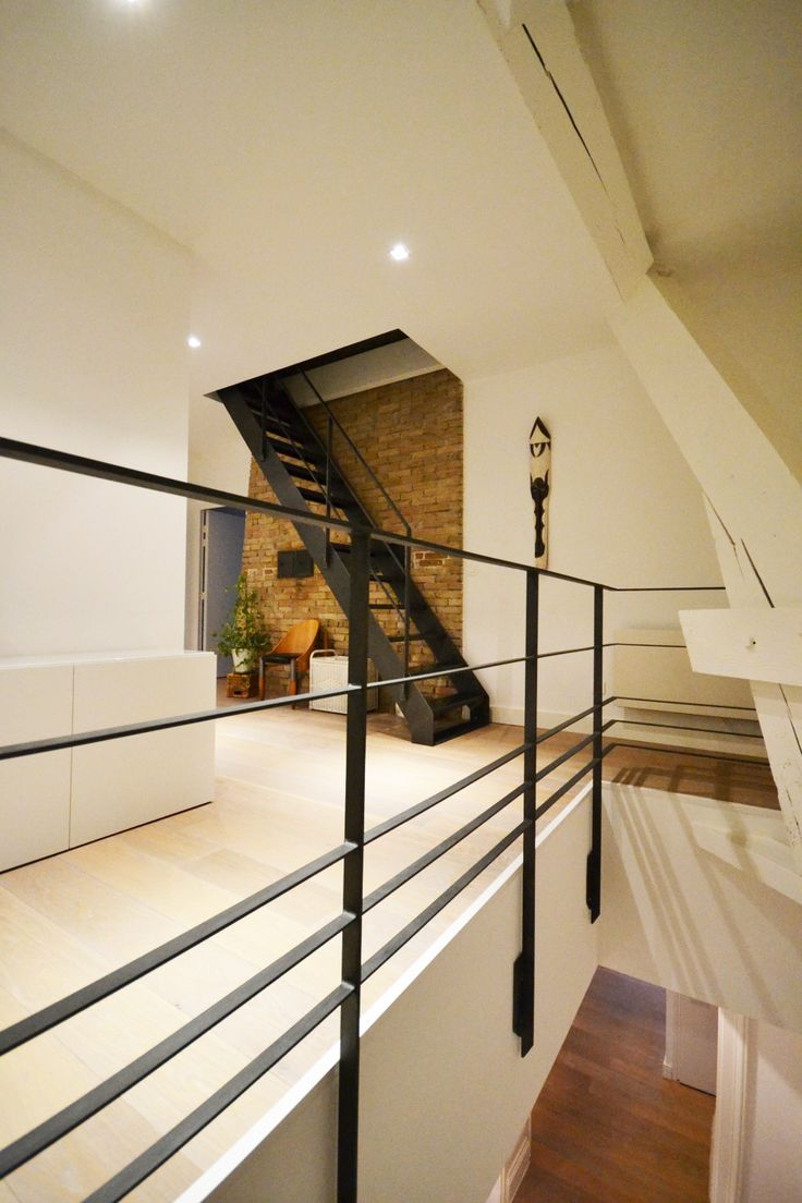 Best 20 garde corps interieur ideas on pinterest garde for Escalier interieur design