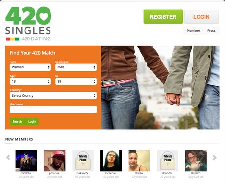 If you smoke weed and your single, then you should check out 420singles.com, a 420 friendly dating site built by stoners for stoners.