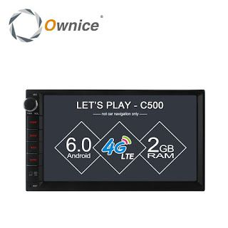 Ownice C500 7 1024600 Android 6.0 quad core Radio 2 din universal car radio Player GPS no dvd support 4G LTE Network DAB TPMS (32773731228)  SEE MORE  #SuperDeals