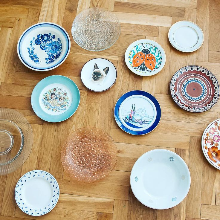 """Check out our plates collection! #vintage #design #plate #porcelain #pottery #ceramics #kitchen #decor #dutchplate #drost #rosenthal #cmielow #wawel…"""