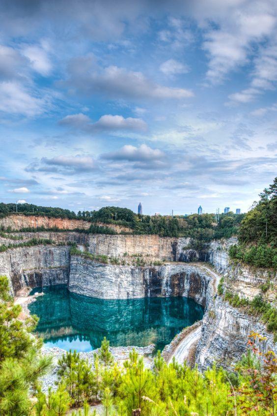 Quarry in Georgia, #USA