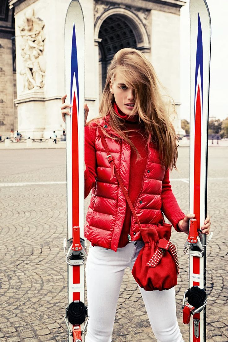 Red Jacket And White Pents - Fashion Trends 2013